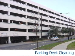 Commercial Parking Deck Cleaning Services